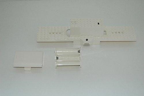 Gebrauchte Bausteine Ersatz für Lego System Lego RC Eisenbahn Train 7897 Unterbau Waggonplatte Grundplatte Plate KOMPATIBEL MIT Lego RC System -