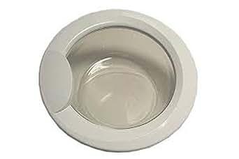 Indesit C00115842 Hotpoint Washing Machine Door Assy, White
