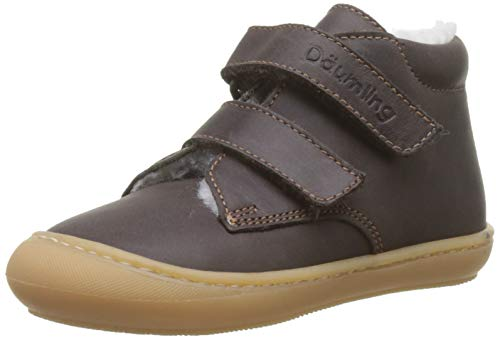 Däumling Baby Jungen Siro Sneaker, Braun (Action Espresso 30), 20 EU