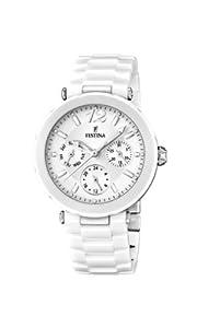Reloj Festina F16641/1 de cuarzo para mujer con correa de cerámica, color blanco de Festina