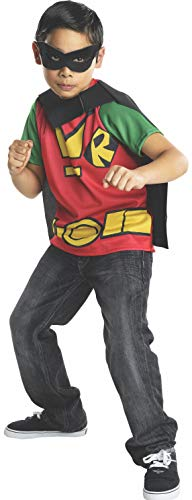 Teen Titans Go! Robin Top Child Costume Large (Teen Titans Go Kostüm)