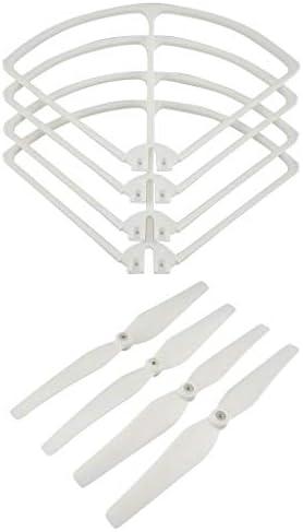 Homyl Set 8pcs Hélices Hélices Hélices à Pales et RC Drone Couvercle de Protection d'hélice pour Sirc S70w Holy Stone Hs100 3a49ad