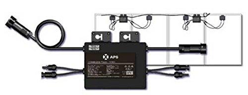 Photovoltaischer Mikro-Inverter 500 W, zwei Eingänge, Kapazität für zwei Solarpanels. -