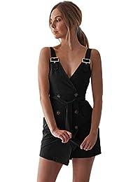 4bdbed71d5 Amazon.es  Negro - Vestidos   Mujer  Ropa