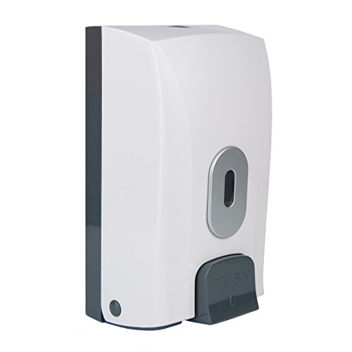 wall-mounted-soap-dispenser-1-litre-capacity-bulk-fill-lockable-takes-soap-sanitiser-shower-gel-sham