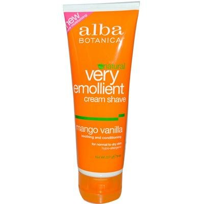 natural-crema-de-afeitar-muy-emoliente-mango-vainilla-8-oz-227-g-alba-botanica