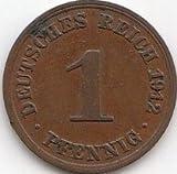 Deutsches Reich Jägernr: 10 1913 D sehr schön Bronze 1913 1 Pfennig Großer Reichsadler (Münzen für Sammler)