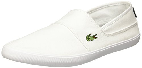 Lacoste Homme Marice Slip On Trainers, Blanc Blanc
