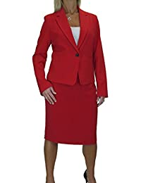 12b6ed9c91 icecoolfashion Smart Fully Lined Washable Event Business Office Skirt Suit  10-22