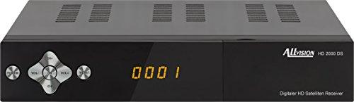 Allvision 9101481 HD-Receiver 2000 DS schwarz