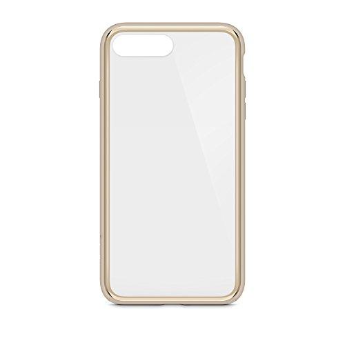 Belkin SheerForce Elite Schutzhülle (Polycarbonat, Sturzsicherheit, Anschlüsse frei zugänglich, geeignet für iPhone 8Plus/7Plus) gold