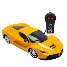 Blossom Vision 1:24 Remote Control Super Car Toy(Battery Operated)with Fine Tuning and Efficient Dynamics for Kids, Multi Color.  available at amazon for Rs.399