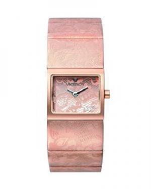 Viceroy 43638–90–Orologio con cinturino in acciaio per donna, colore: rosa/grigio