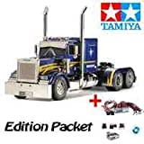 Tamiya Truck - LKW 1:14 RC Grand Hauler Customized + LED Lichtset