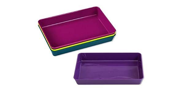 Betzold 850212 Bastelschalen-Set mit 6 gro/ßen Materialschalen in sch/önen Farben