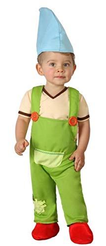 Fancy Me Baby Jungen Gartenzwerg Weihnachten Elf Weltbuch Kostüm Outfit (Baby Gartenzwerg Kostüm)