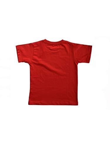 The Talking Canvas Halloween Vampire Glow in The Dark Kids T Shirt Regular Fit Red
