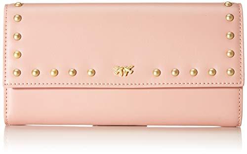 Pinko garland wallet, portafoglio donna, rosa (light pink), 3x10x19 cm (w x h x l)