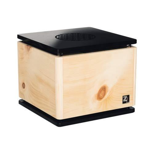 ZirbenLüfter ® CUBE rondo stone für 40 m2, Luftbefeuchter und Luftreiniger