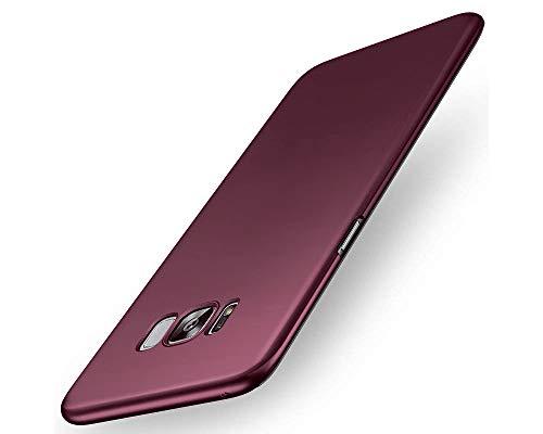 EIISSION Samsung Galaxy S8 Hülle,EMIRROW schlicht dünn Leichte Cover SlimShell Case PC Schutzhülle für Samsung Galaxy S8 Handyhülle,Lila