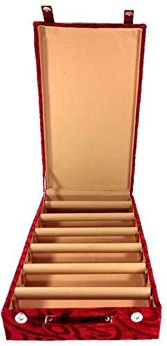 Sarohi Wooden 6 roll Rod Bangle Storage Box