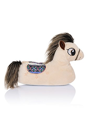 Unisex Tierhausschuhe aus Plüsch - Kinder & Erwachsene Penny Pony