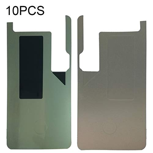 HUANGMENG Reparaturaufkleber 10 PCS LCD Digitizer Back Selbstklebende Aufkleber für Galaxy S9, G960F, G960F / DS, G960U, G960W, G9600