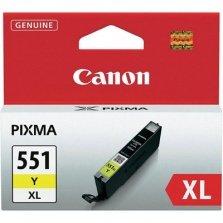 INK CARTRIDGE, CLI-551Y XL YELLOW, CANON CLI551XLY