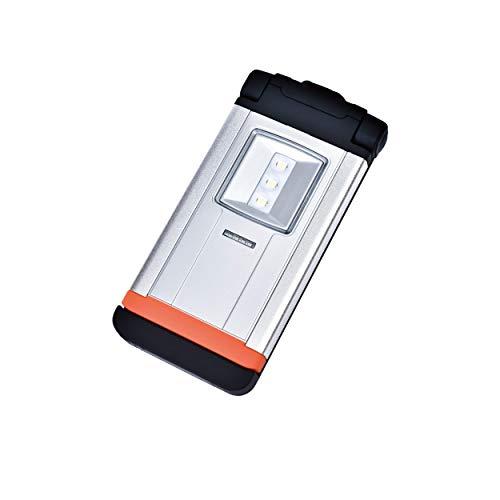 SBK TSL1001: Akku-Taschenleuchte, 270 Lumen, Leuchtdauer 3,5 - 8 Stunden, drehbarer Einhängehaken, Inklusive Ladekabel (MicroUSB/USB)