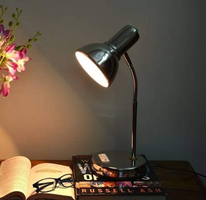 HELICON Table Lamp- (Strong Stainless Steel Body)- Office Use/study Lamp/desk Lamp/reading/working Light