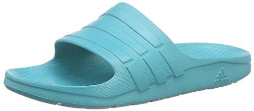 Adidas Unisex - Erwachsene, Open Toe Sandalen, duramo slide, Mehrfarbig (Shogrn/Shogrn/Shogrn), 46 EU