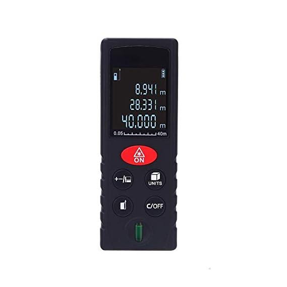 Baybar 100m Mini Laser Rangefinder Laser Tape Range Finder Diastimeter Measure Handheld Laser Distance Meter