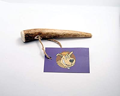 The Regal Mutt – Antler Puppy Chew ? Pack Contains 1 Antler Puppy Chew ? An Antos Dog Chew ? Charity Donation to Four Paws Animal Rescue ? 100% Natural Product – No Preservatives or Additives? Long Lasting ? Low Fat ? Hypoallergenic ? A Natural Toothbrush