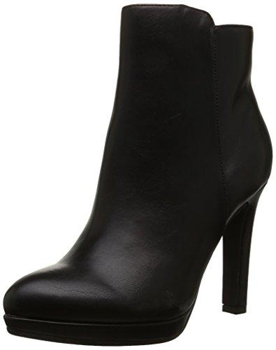Buffalo Shoes Damen Y436-51B Kurzschaft Stiefel, Schwarz (Black 01), 36 EU