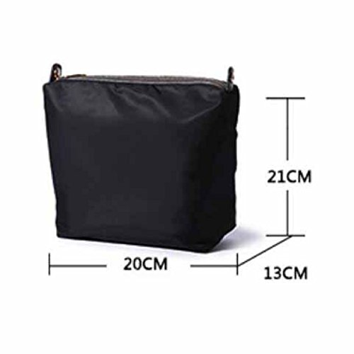 Bucket Bag Handtasche Schultertasche Einfache High-Capacity Messenger Bag,Black Black