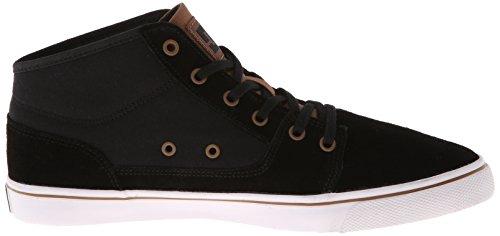 Dc Shoes Tonik Mid W J, Baskets mode femme Noir (Black)