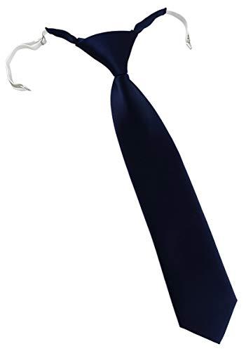 TigerTie - Corbata niños preatada goma elástica