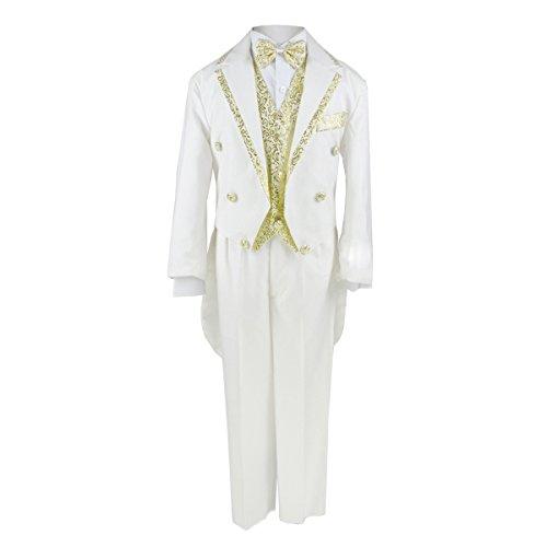 Boys Suits (10-11 Anni, Bianco Avorio)