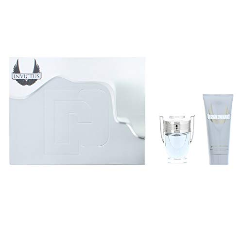 Paco Rabanne INVICTUS 2017 Coffret 50ml Eau De Toilette EDT & 100ml Gel Douche