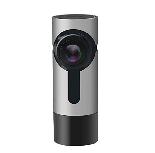 Preisvergleich Produktbild SHISHANG Auto Recorder Single Shot 360 Grad Panorama Kamera versteckte Typ Loop Recorder 1080P HD Starlight Nachtansicht Gravity Sensor Max Unterstützung 128G Speicher Eingebaute Wireless WiFi 170 Grad Weitwinkel Schuss ,  A2