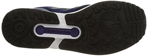 adidas Zx Flux, Scarpe da Ginnastica Unisex – Adulto Viola (Dark Blue/Dark Blue/Collegiate Purple)