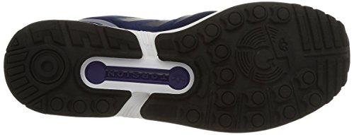 adidas ZX Flux, Scarpe da Ginnastica Unisex – Adulto Blu (Dark Blue/Dark Blue/Collegiate Purple)