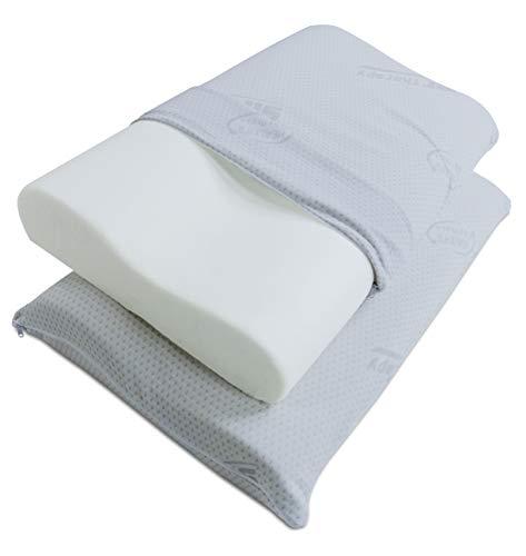 Guanciale Memory Foam Prezzo.Cuscino Memory Foam Fodera Di Protezione Sconto Del 61 Grandi