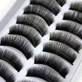 20 Paar schwarze dicke natürliche lange Make-up falschen gefälschte Wimpern Wimpern durch Boolavard® TM -
