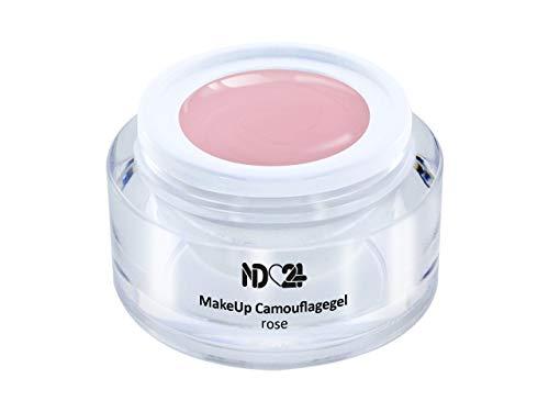 5ml - Make Up CAMOUFLAGE Aufbau - Gel rose - nd24 BESTSELLER - BabyBoomer Naildesign UV Gelnägel Nagelgel - Studio Qualität - MADE IN GERMANY