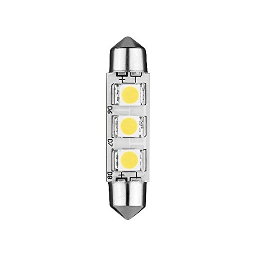 Lampada LED navetta 42mm 12VDC 0W7Bianco freddo