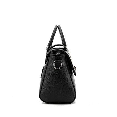 Damenmode bestickt PU Leder Messenger Schulter Mini Taschen / Handtaschen Klt Wine