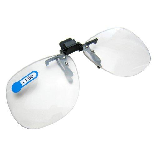 Daiso Japan Optische zum Aufstecken Klappsitz Lupe Lesebrille Dioptrien + 1.50