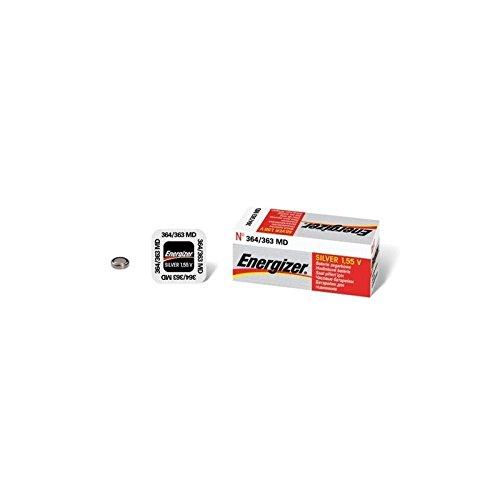 Energizer 363/364 - piles (Oxyde d'argent, Button/Coin, argent)