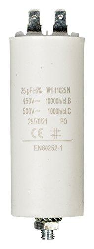 Fixapart Kondensator 25,0µF / 450 V + Erde
